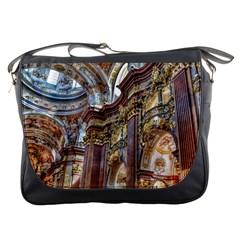 Baroque Church Collegiate Church Messenger Bags