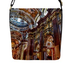 Baroque Church Collegiate Church Flap Messenger Bag (l)