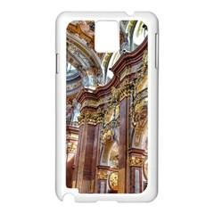 Baroque Church Collegiate Church Samsung Galaxy Note 3 N9005 Case (white)