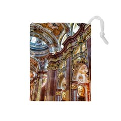 Baroque Church Collegiate Church Drawstring Pouches (medium)