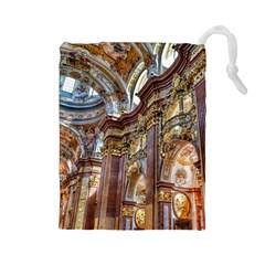 Baroque Church Collegiate Church Drawstring Pouches (large)