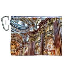 Baroque Church Collegiate Church Canvas Cosmetic Bag (xl)