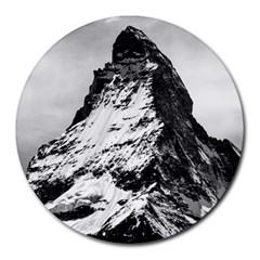 Matterhorn Switzerland Mountain Round Mousepads