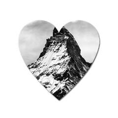 Matterhorn Switzerland Mountain Heart Magnet