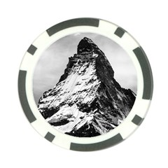 Matterhorn Switzerland Mountain Poker Chip Card Guard (10 Pack)