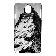 Matterhorn Switzerland Mountain Samsung Galaxy Note 3 N9005 Hardshell Case