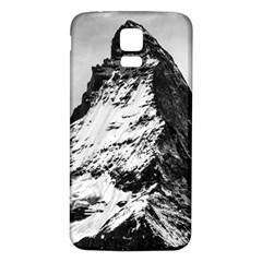 Matterhorn Switzerland Mountain Samsung Galaxy S5 Back Case (white)