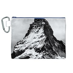 Matterhorn Switzerland Mountain Canvas Cosmetic Bag (xl)