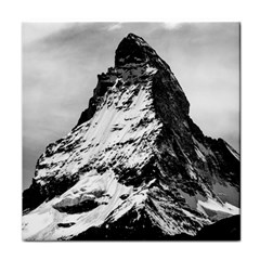 Matterhorn Switzerland Mountain Tile Coasters