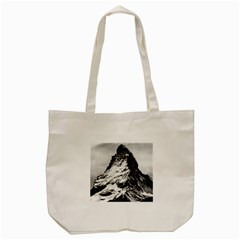 Matterhorn Switzerland Mountain Tote Bag (cream)