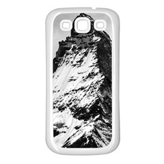 Matterhorn Switzerland Mountain Samsung Galaxy S3 Back Case (white)