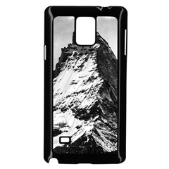 Matterhorn Switzerland Mountain Samsung Galaxy Note 4 Case (black)