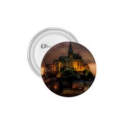 Mont St Michel Sunset Island Church 1 75  Buttons