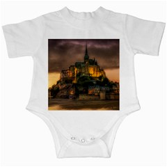 Mont St Michel Sunset Island Church Infant Creepers