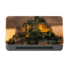 Mont St Michel Sunset Island Church Memory Card Reader With Cf
