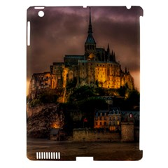 Mont St Michel Sunset Island Church Apple Ipad 3/4 Hardshell Case (compatible With Smart Cover)