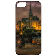 Mont St Michel Sunset Island Church Apple Iphone 5 Classic Hardshell Case