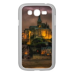 Mont St Michel Sunset Island Church Samsung Galaxy Grand Duos I9082 Case (white)
