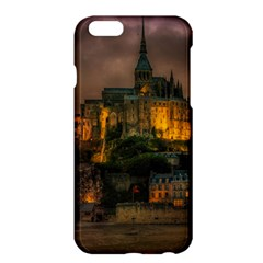 Mont St Michel Sunset Island Church Apple Iphone 6 Plus/6s Plus Hardshell Case