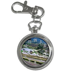 Rice Terrace Rice Fields Key Chain Watches