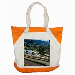 Rice Terrace Rice Fields Accent Tote Bag