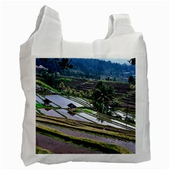 Rice Terrace Rice Fields Recycle Bag (one Side)