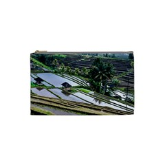 Rice Terrace Rice Fields Cosmetic Bag (small)