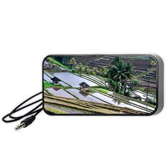 Rice Terrace Rice Fields Portable Speaker (black)