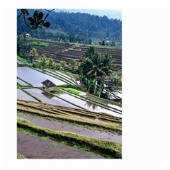 Rice Terrace Rice Fields Large Garden Flag (two Sides)
