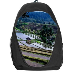 Rice Terrace Rice Fields Backpack Bag
