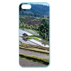 Rice Terrace Rice Fields Apple Seamless Iphone 5 Case (color)