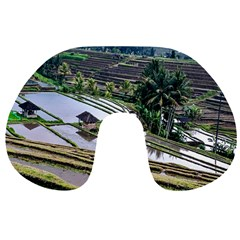 Rice Terrace Rice Fields Travel Neck Pillows