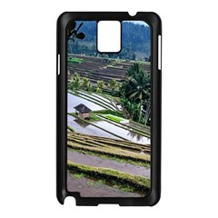 Rice Terrace Rice Fields Samsung Galaxy Note 3 N9005 Case (black)