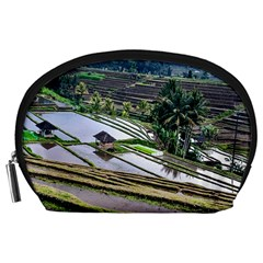 Rice Terrace Rice Fields Accessory Pouches (large)