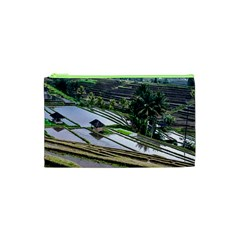Rice Terrace Rice Fields Cosmetic Bag (xs)