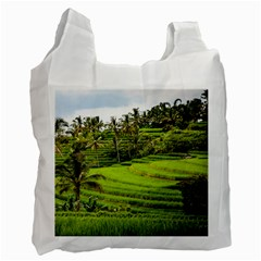 Rice Terrace Terraces Recycle Bag (one Side)