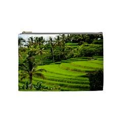 Rice Terrace Terraces Cosmetic Bag (medium)