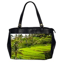 Rice Terrace Terraces Office Handbags (2 Sides)