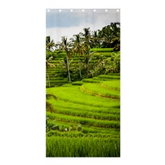 Rice Terrace Terraces Shower Curtain 36  X 72  (stall)