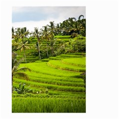 Rice Terrace Terraces Small Garden Flag (two Sides)