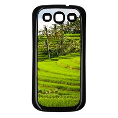 Rice Terrace Terraces Samsung Galaxy S3 Back Case (black)