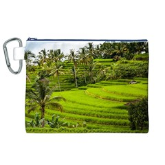Rice Terrace Terraces Canvas Cosmetic Bag (xl)