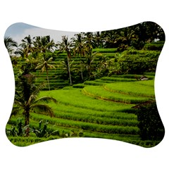 Rice Terrace Terraces Jigsaw Puzzle Photo Stand (bow)