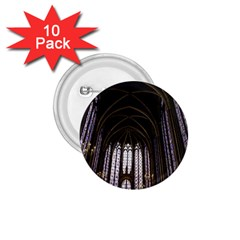Sainte Chapelle Paris Stained Glass 1 75  Buttons (10 Pack)