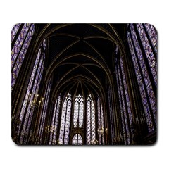Sainte Chapelle Paris Stained Glass Large Mousepads