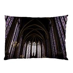 Sainte Chapelle Paris Stained Glass Pillow Case
