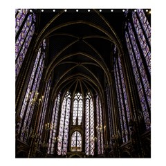 Sainte Chapelle Paris Stained Glass Shower Curtain 66  X 72  (large)