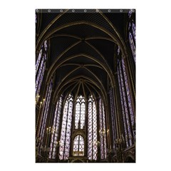 Sainte Chapelle Paris Stained Glass Shower Curtain 48  X 72  (small)