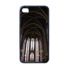 Sainte Chapelle Paris Stained Glass Apple Iphone 4 Case (black)