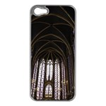Sainte Chapelle Paris Stained Glass Apple iPhone 5 Case (Silver) Front